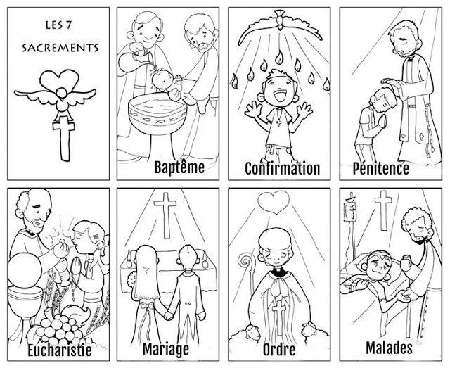 les 7 sacrements de l'Eglise